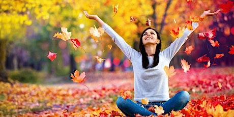 Cómo vencer el estrés, la ansiedad o el trauma y sentirte más feliz boletos