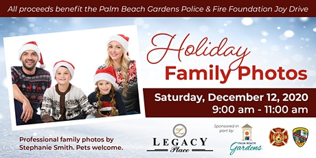 Professional Holiday Family Photos - Saturday, December 12 tickets