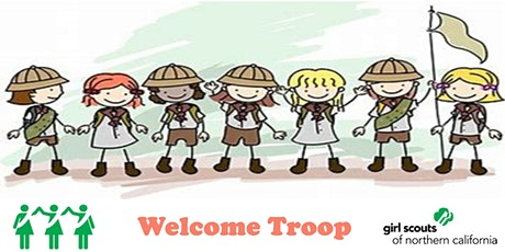 Fremont, Newark, Union City , CA  | Girl Scout Welcome Troop billets