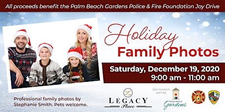 Professional Holiday Family Photos - Saturday, December 19 tickets