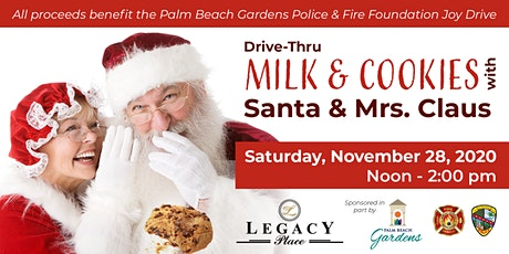 Drive-Through Milk & Cookies with Santa & Mrs. Claus - November 28 tickets