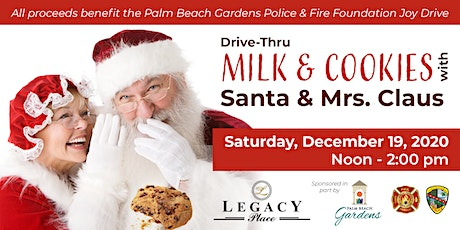 Drive-Through Milk & Cookies with Santa & Mrs. Claus - Saturday,December 19 tickets