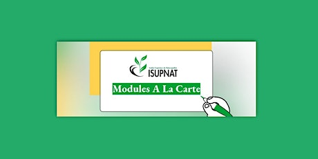 Contraception naturelle - Module de formation à la carte billets