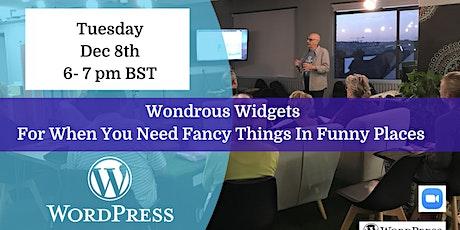 Wondrous Widgets tickets