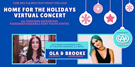 Home for the Holidays Virtual Concert tickets