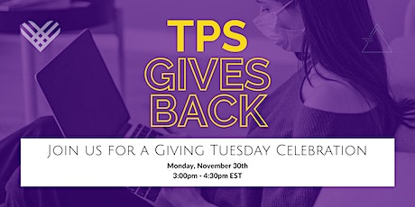 TPS Gives Back tickets