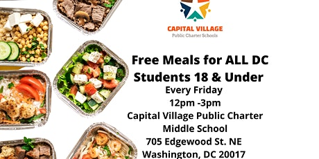 FREE MEALS tickets