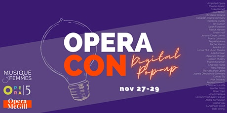 OperaCon: Digital Pop-Up tickets