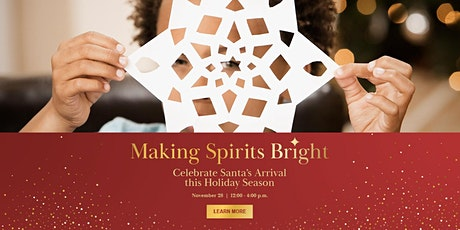 Activity 2 Paper Snowflake Making: Santa's Arrival Event at SWB tickets