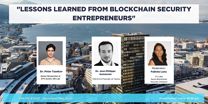 """Join this event where the freshly launched """"Trust Valley"""" based in Western Switzerland is meeting the """"Crypto Valley"""" at CV Labs, Zug"""