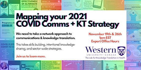 A Network Approach to Community COVID Communications - Expert Office Hours tickets