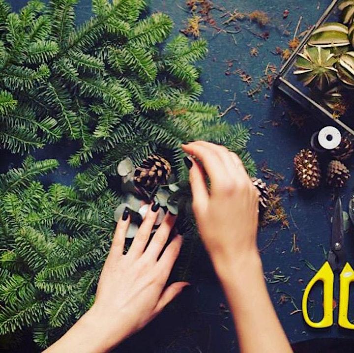 Online Wreath Making Workshop image