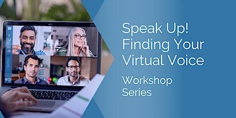 Speak up! Find Your Virtual Voice tickets