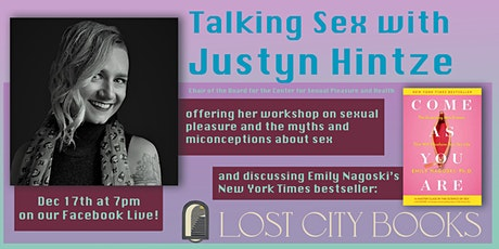 Talking Sex with Justyn Hintze at Lost City Books tickets