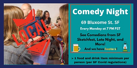 Live Comedy at the San Francisco Local Brewery tickets