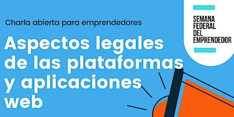 Aspectos legales de las plataformas y aplicaciones web. entradas