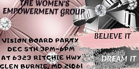 Women's Empowerment Vision Board Party tickets