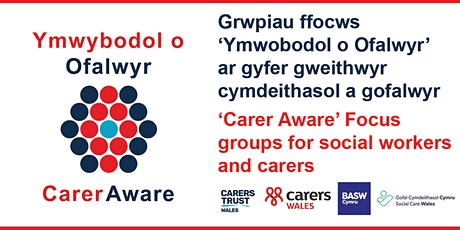 Focus Group for Social Workers and Unpaid Carers tickets