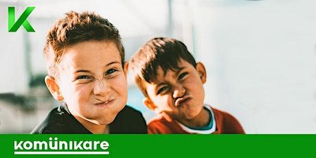 """Curso online de """"Lenguaje no verbal avanzado"""" para niños (de 7-12 años) entradas"""