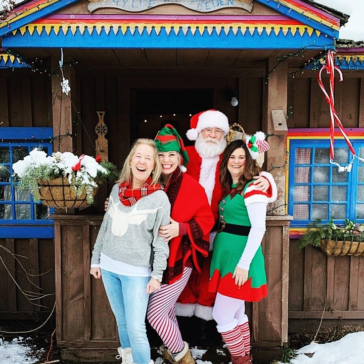 9 Mile Schoolhouse Christmas Village image