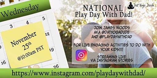 National Play Day With Dad