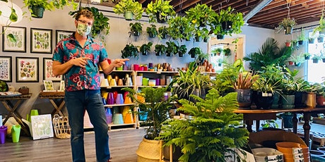 Houseplant Botany 101 at Little Eden Plantscaping tickets