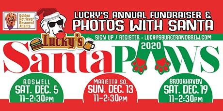 Lucky's Marietta Santa Paws Event tickets