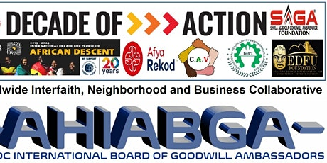 Encounter AHIABGA Decade of Action on the SDGs tickets