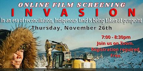 Invasion: Online Film Screening & Discussion tickets
