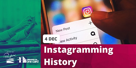 Instagramming History tickets