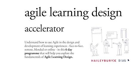 HaileyburyX Agile Learning Design: Accelerator