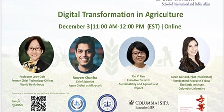 Digital Transformation in Agriculture tickets