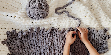DIY Chunky Knit Blanket Workshop tickets