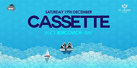 El Primo Sydney presents: Cassette - Boat Party tickets