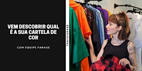 Vem descobrir sua cartela de cor em São Paulo - Novembro e Dezembro 2020 tickets