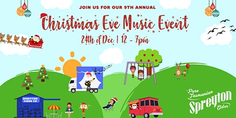 Christmas Eve Music Event at Spreyton Cider Co tickets