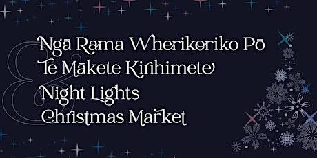 Night Lights and Christmas Market tickets