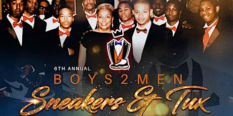 Boys2Men - Sneakers & Tux Gala tickets