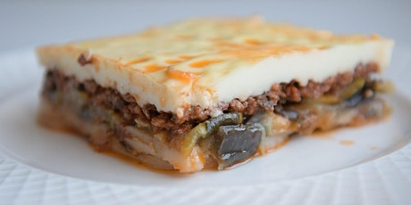Online Cooking Class - Learn to make Moussaka Greek Vegetable Bake tickets