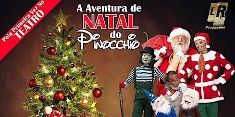 DESCONTO! O Primeiro Natal de Pinocchio no Teatro Fernando Torres ingressos