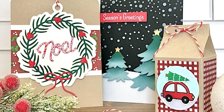 Holiday Card Making Class with Cheryl's Craft Room tickets