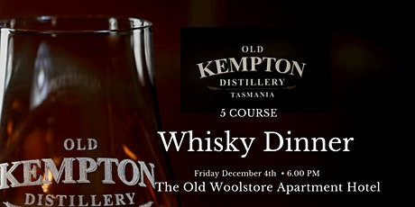 Old Kempton Whisky Dinner tickets