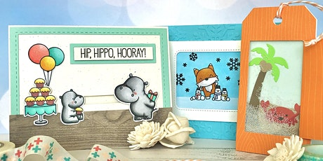 Interactive Card Making Class with Cheryl's Craft Room tickets