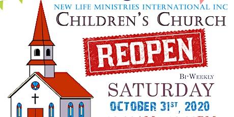 New Life Ministries International Children's Church (Age 8-9) tickets