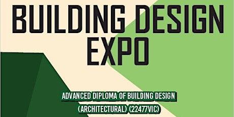 BUILDING DESIGN EXPO - Bendigo TAFE tickets