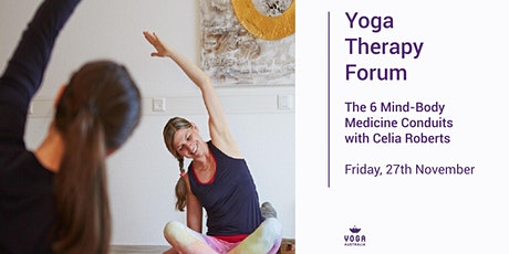 Yoga therapy forum:  The 6 Mind-Body Medicine Conduits tickets