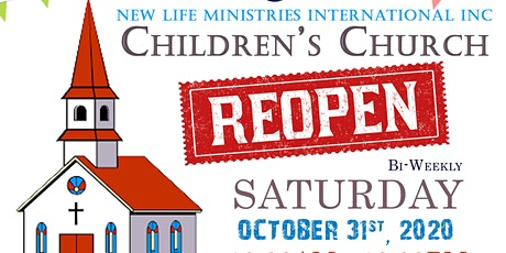 Copy of New Life Ministries International Children's Church (Age 6-7) tickets