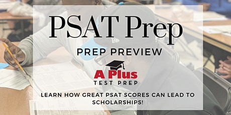 PSAT Free Prep Preview: Get ready for National Merit Scholarships! Jan. 7 tickets