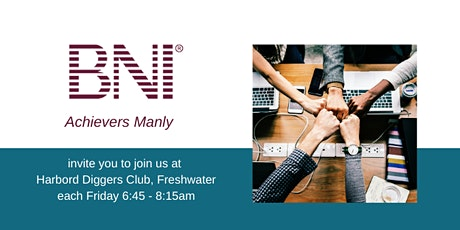 BNI Achievers - Small Business Breakfast 2020 tickets