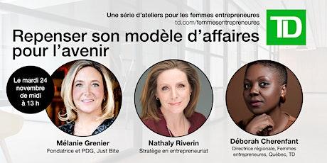 Femmes entrepreneures - Repenser son modèle d'affaires - Présenté par TD billets